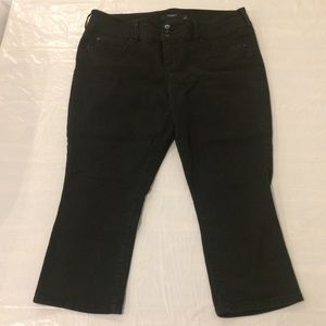 Torrid Denim Black Jean Crop Pants Women's Size 18